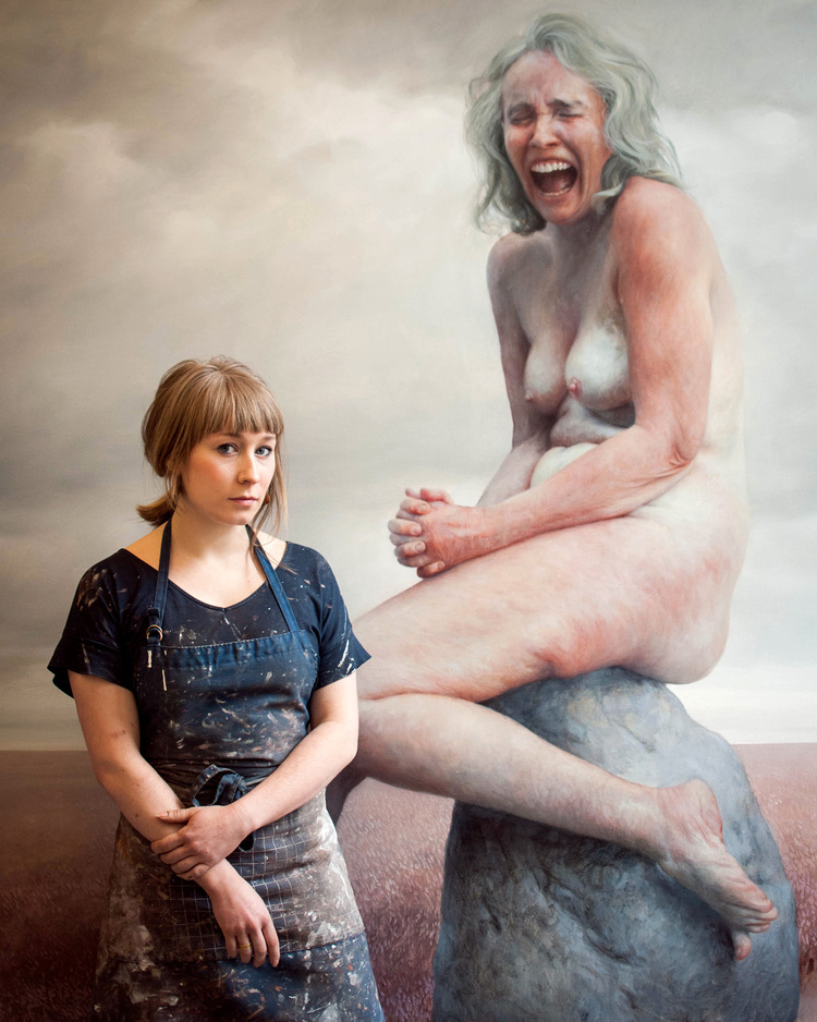 Aleah Chapin - Artist - Critically Acclaimed Artist Program - Figure Painting Images That Live